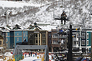 SHOT 3/2/17 11:49:12 AM - Park City, Utah lies east of Salt Lake City in the western state of Utah. Framed by the craggy Wasatch Range, it's bordered by the Deer Valley Resort and the huge Park City Mountain Resort, both known for their ski slopes. Utah Olympic Park, to the north, hosted the 2002 Winter Olympics and is now predominantly a training facility. In town, Main Street is lined with buildings built primarily during a 19th-century silver mining boom that have become numerous restaurants, bars and shops. (Photo by Marc Piscotty / © 2017)