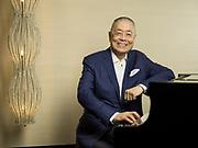 Pianist Liu Shikun poses for a portrait on 28 June 2016 in Grand Hyatt hotel, Hong Kong, China. Photo by Victor Fraile / studioEAST