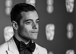 Rami Malek attending 72nd British Academy Film Awards, Arrivals, Royal Albert Hall, London. 10th February 2019