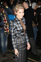 Mollie King, Harper's Bazaar Women of the Year Awards, Claridge's Hotel, London UK, 05 November 2013, Photo by Richard Goldschmidt © Licensed to London News Pictures. Photo credit : Richard Goldschmidt/Piqtured/LNP