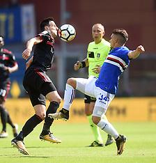 AC Milan v Sampdoria - 24 September 2017