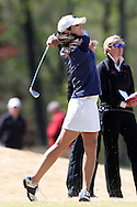 15 April 2016: Notre Dame's Jordan Ferreira. The First Round of the Atlantic Coast Conference's Womens Golf Tournament was held at Sedgefield Country Club in Greensboro, North Carolina.