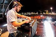 Damian Schwartz  at the Benicassim Festival 2012