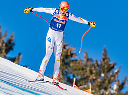 22.01.2019, Streif, Kitzbühel, AUT, FIS Weltcup Ski Alpin, Abfahrt, Herren, 1. Training, im Bild Christof Innerhofer (ITA) // Christof Innerhofer of Italy during the 1st Training of mens downhill of FIS Ski Alpine Worldcup at the Streif in Kitzbühel, Austria on 2019/01/22. EXPA Pictures © 2019, PhotoCredit: EXPA/ Stefan Adelsberger