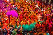 India-Uttar Pradesh-Holi Festival