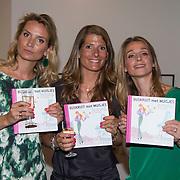 NLD/Amsterdam/20130621 - Boekpresentatie Buskruit met Muisjes, Nina Veeneman - Dietz, Noor Schutte - Kerckhoff, Marieke Wiegmans - Bremers