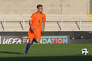 Liam Van Gelderen of Netherlands (3) during the UEFA European Under 17 Championship 2018 match between Netherlands and Spain at the Pirelli Stadium, Burton upon Trent, England on 8 May 2018. Picture by Mick Haynes.