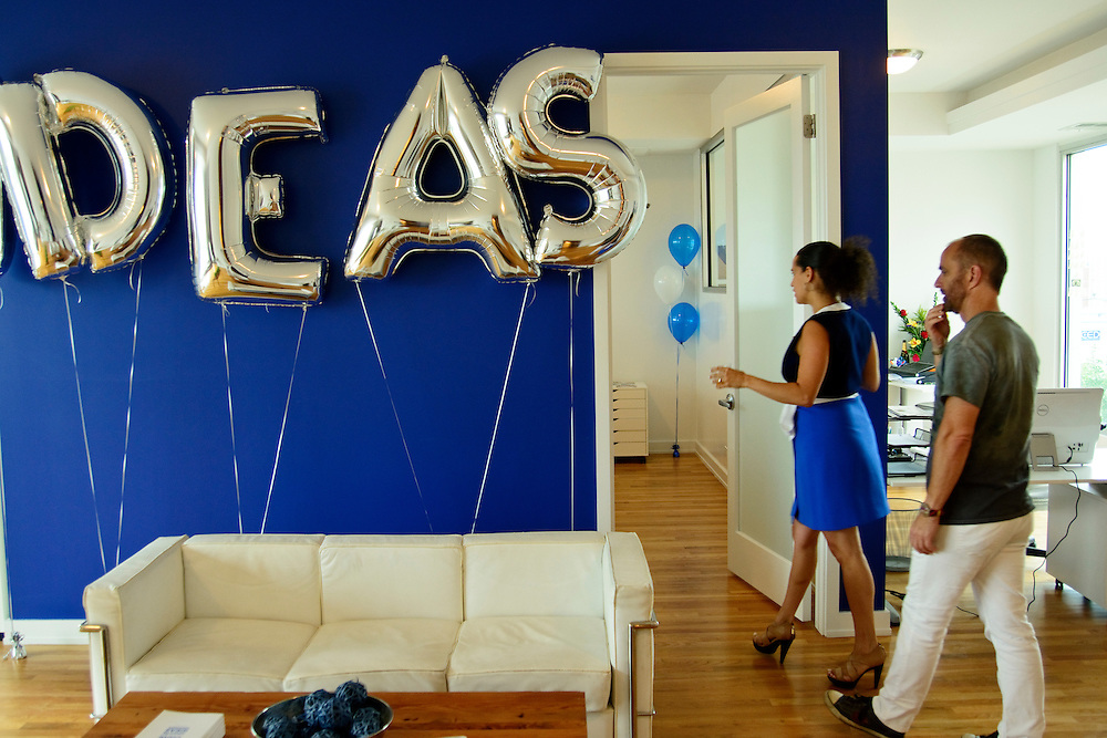 Blue Daring hosts a client social at it's new offices in Chicago's West Town neighborhood on Wednesday, August 19th. ©2015 Brian J. Morowczynski ViaPhotos
