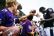 August 2, 2019<br /> Baltimore Ravens Training Camp at the headquarters.