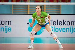 LORBER FIJOK Lorena of Slovenian national teamduring volleyball match between Slovenia and Portugal in CEV Volleyball European Silver League 2021, on 12 of June, 2021 in Dvorana Ljudski Vrt, Maribor, Slovenia. Photo by Blaž Weindorfer / Sportida