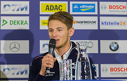 20.05.2016, Red Bull Ring, Spielberg, AUT, DTM Red Bull Ring, Pressekonferenz, im Bild Marco Wittmann (GER, BMW M4 DTM) // during the DTM Championships 2016 at the Red Bull Ring in Spielberg, Austria, 2016/05/20, EXPA Pictures © 2016, PhotoCredit: EXPA/ Dominik Angerer