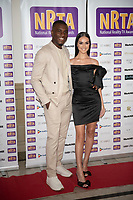 Luke Trotman, Siannise Fudge at the National Reality TV Awards in Porchester Hall  london photo by Brian Jordan