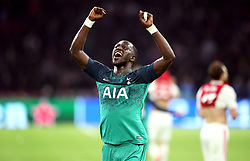 Tottenham Hotspur's Moussa Sissoko celebrates after the final whistle during the UEFA Champions League Semi Final, second leg match at Johan Cruijff ArenA, Amsterdam.