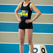 NLD/Apeldoorn/20180217 - NK Indoor Athletiek 2018, 60 meter dames, Laura Zwaan