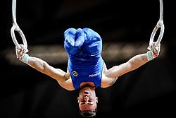 November 2, 2018 - Doha, Qatar - Marco Lodadio of Italy   during  Rings for Men at the Aspire Dome in Doha, Qatar, Artistic FIG Gymnastics World Championships on 2 of November 2018. (Credit Image: © Ulrik Pedersen/NurPhoto via ZUMA Press)