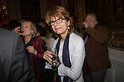 VICKY PRYCE, The Literary Review Bad Sex in Fiction Award 2014. The In and Out ( Naval and Military ) Club, 4 St. James's Sq. London SW1. 3 December 2014.