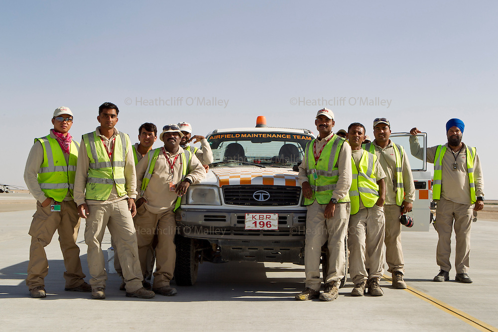 Runway Maintenance<br /> <br /> Images of the KBR team working at Camp Bastion for Afghanistan Legacy Supplement .