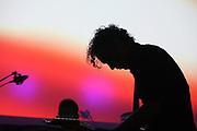 Performance of Dutch band Spinvis at the Noorderslag festival in Groningen // Spinvis op Noorderslag.