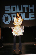 Jaslene Gonzalez at the South Pole Fashion show during ' The Stay in School Concert ' facilated by Entertainers for Education held at The Manhattan Center on October 28, 2008 in New York City