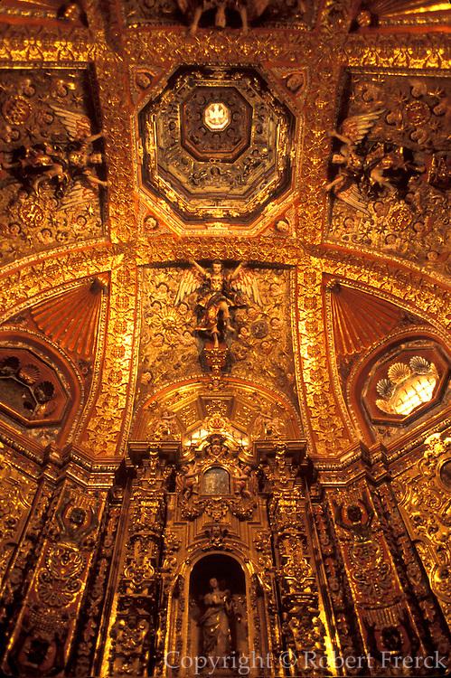 MEXICO, COLONIAL ARCHITECTURE Tepotzotlan, St. Francis Xavier Seminary