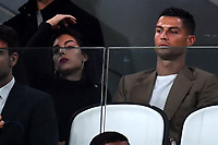 Georgina Rodriguez and Cristiano Ronaldo of Juventus <br /> Torino 02-10-2018 Juventus Stadium Football Calcio Uefa Champions League 2018/2019 Group H Juventus - Young Boys <br /> Foto Andrea Staccioli / Insidefoto