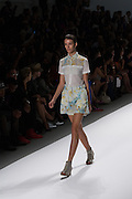 Shorts and coordinated top by Richard Chai at the Spring 2013 Mercedes Benz Fashion Week show in New York.
