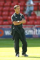 Photo: Dave Linney.<br />Wrexham v Swindon Town. Coca Cola League 2. 09/09/2006Swindon Mgr .Dennis Wise