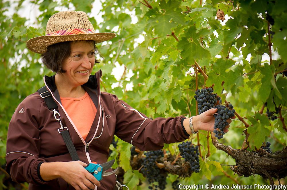 Marie-Eve Gilla, winemaker, Forgeron Cellars, Walla Walla, Washington