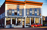 A storefront energy company in Bath, Maine