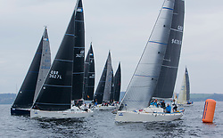 Largs Regatta Festival 2019<br /> <br /> Saturdays, RC35 Class Start with Animal and Banshee