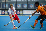 Ian Sloan. England v Malaysia - 3rd/4th Playoff - Hockey World League Semi Final, Lee Valley Hockey and Tennis Centre, London, United Kingdom on 25 June 2017. Photo: Simon Parker