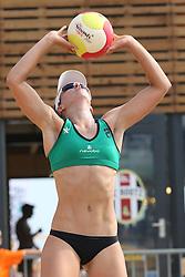 20160723 NED: NK Beachvolleybal 2016, Scheveningen <br />Jolien Sinnema<br />©2016-FotoHoogendoorn.nl / Pim Waslander