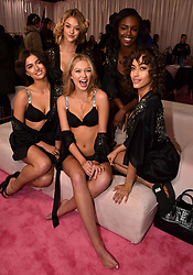 Backstage of the 2018 Victoria's Secret Fashion Show on November 8, 2018 in New York City, New York. Photo by Lionel Hahn/ABACAPRESS.COM