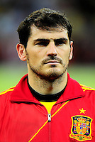 Fifa Brazil 2013 Confederation Cup / Group B Match / <br /> Spain vs Uruguay 2-1 ( Arena Pernambuco Stadium - Recife , Brazil )<br /> Iker CASILLAS of Spain , during the match between Spain and Uruguay
