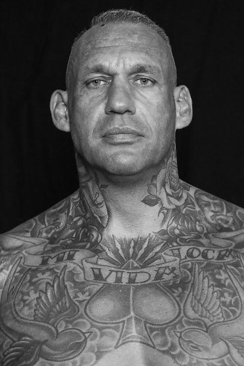 BOXEN: Studio, Portrait of a Boxer, Wismar, 10.10.2020<br /> Jens Tietze (GER)<br /> © Torsten Helmke