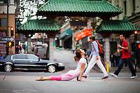Wesleigh Roeca at China Town, San Francsico