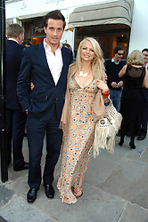 HANNAH SANDLING and OLIVER FELSTEAD at the launch of The Rupert Lund Showroom, 61 Chelsea Manor Street, London SW3 on 2nd May 2007.<br /><br />NON EXCLUSIVE - WORLD RIGHTS