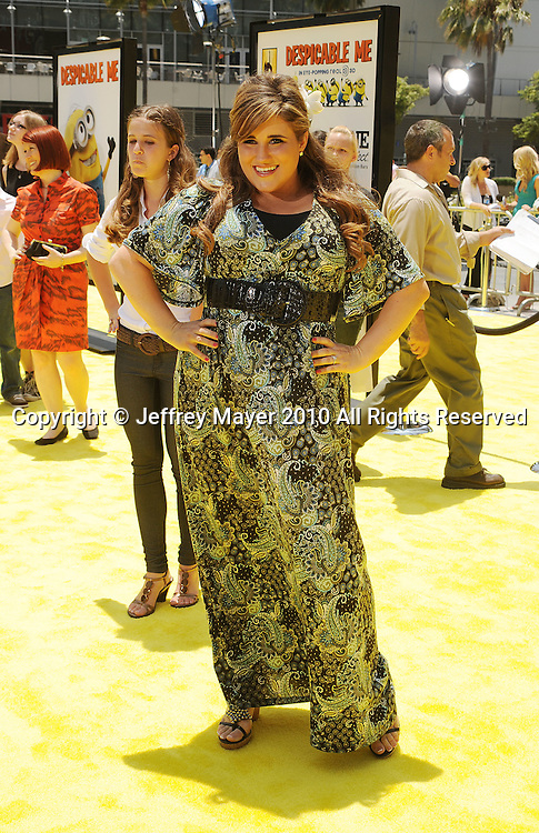 """LOS ANGELES, CA. - June 27: KayCee Stroh arrives at the 2010 Los Angeles Film Festival - """"Despicable Me"""" Premiere on June 27, 2010 in Los Angeles, California."""