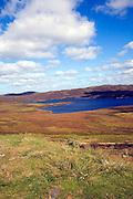 Loch of Burga Water, near Walls, Mainland, Shetland Islands, Scotland