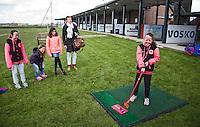 GOUDA - GOLFBAAN IJSSELWEIDE , kennismaken met golf tijdens Open Golfdag, jeugdspelers  COPYRIGHT KOEN SUYK