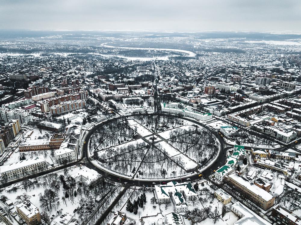 Korpusnyy Sad in Poltava, Ukraine
