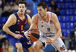 November 17, 2017 - Barcelona, Catalonia, Spain - San Van Rossom during the match between FC Barcelona v Anadolou Efes corresponding to the week 8 of the basketball Euroleague, in Barcelona, on November 17, 2017. (Credit Image: © Joan Valls/NurPhoto via ZUMA Press)