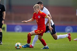 NEWPORT, WALES - Friday, September 3, 2021: Wales' Jordan James during an International Friendly Challenge match between Wales Under-18's and England Under-18's at Spytty Park. (Pic by David Rawcliffe/Propaganda)