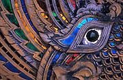 Eye detail of a naga, Chiang Mai, Thailand