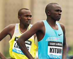 adidas Grand Prix Diamond League professional track & field meet: mens 800 meters, Timothy KITUM, Kenya