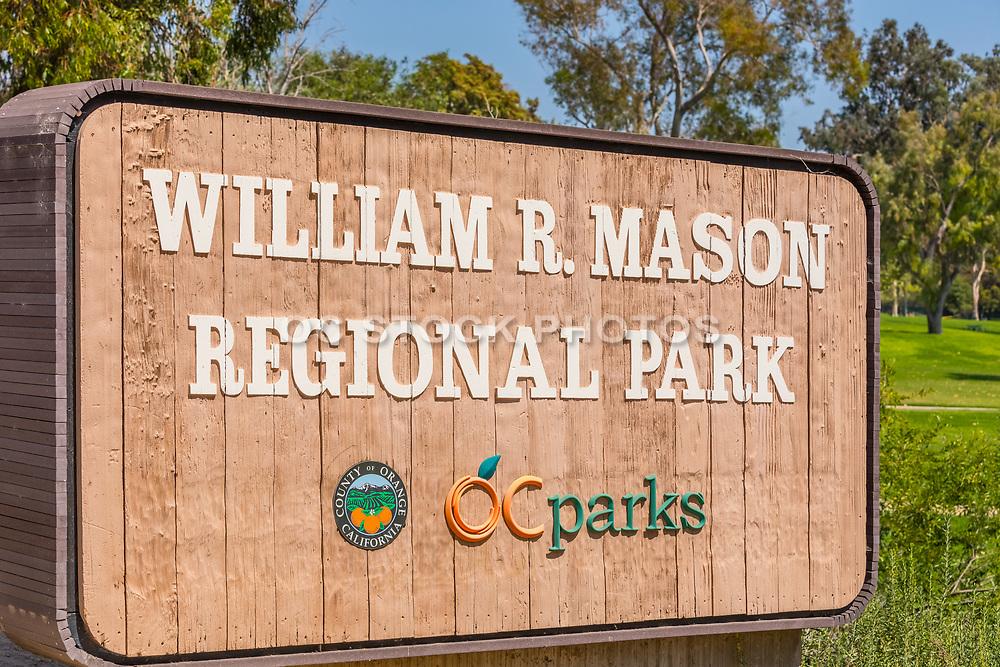 William R. Mason Park Signage
