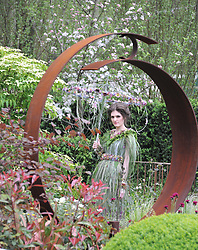 Model at the 2013 RHS Chelsea Flower Show held in the grounds of the Royal Hospital, Chelsea on 20th May 2013.
