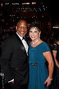 SAG-AFTRA National Associate Executive Director Mathis Dunn, and wife