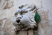 Gargoyle, Dubrovnik old town, Croatia