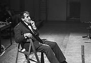 """Teatr Cricot 2. Próba do spektaklu Tadeusza Kantora pt. """"Wielopole, wielopole...""""."""